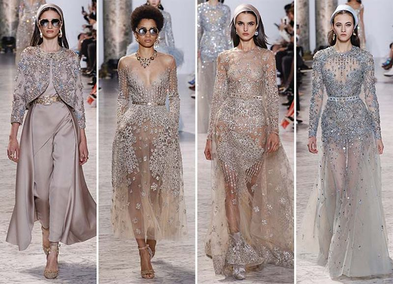 Haute Couture ELIE SAAB Spring-Summer Collection 2017