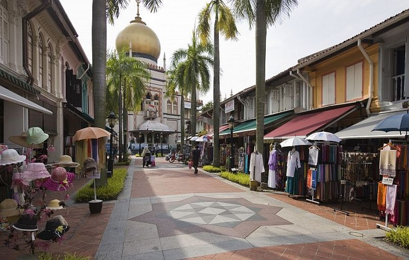 Arab Street in Little India